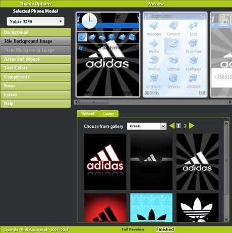 themes nokia creator Temas para nokia, crealos online en Theme Creator