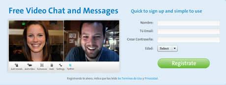 video chat gratis Video chat y enviar videos por email con Tokbox