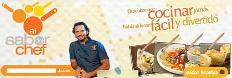 recetas cocina chef oropeza Recetas de cocina, al sabor del chef oropeza