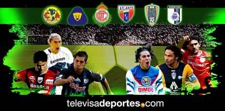 futbol mexicano Futbol mexicano en vivo, Apertura 2009 Jornada 7