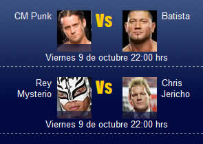 luchas wwe gratis WWE SmackDown online, 9 de Octubre