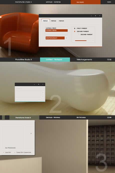 temas windows xp minimalista Temas xp, 3 excelentes temas para tu windows