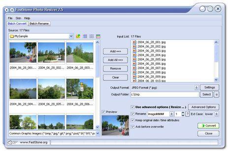 como organizar fotos con faststone photo resizer Como organizar fotos con FastStone Photo Resizer