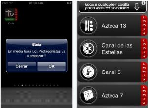 Captura de pantalla 2010 03 06 a las 10.37.56 300x219 Guía de televisión abierta mexicana en tu iPhone con iGuia