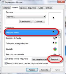 Como cambiar punteros de mouse 3 Como cambiar tu cursor, o puntero del ratón (mouse)