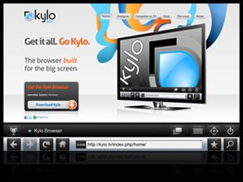 navegar web tv Navegar en internet desde tu TV HDTV con Kylo.tv
