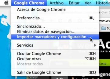 Como importar favoritos de otro navegador a Chrome 3 Como importar favoritos de otro navegador a Chrome