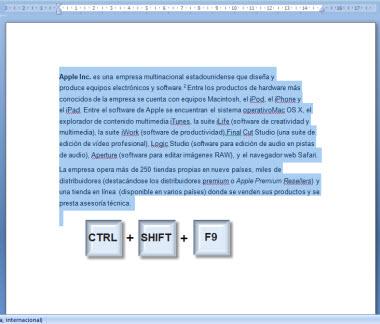 hipervinculo 4 Como quitar los hipervínculos de un documento en Word
