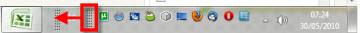 inicio rapido 5 Agrega la barra de Inicio rápido a la barra de tareas en Windows 7