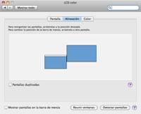 macbook pro with external monitor 3 Conecta y configura un segundo monitor en Mac