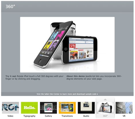 apple html5 demos Demos html5 hechos por Apple
