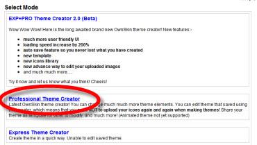 crear temas celular Crear temas para celular en OwnSkin