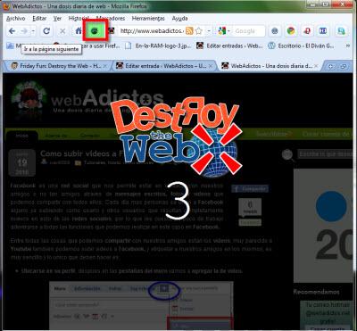 firefox destroy the web Destroy the Web, juega con Firefox
