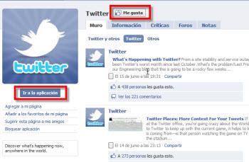 ir a la aplicacion twitter Como vincular tu cuenta de Twitter con Facebook
