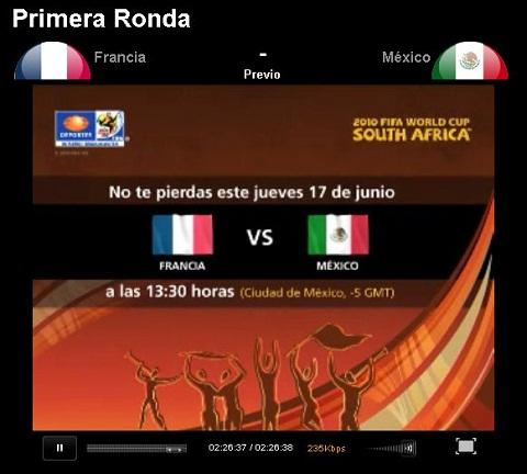 mexico francia en vivo mundial Mexico vs Francia en vivo