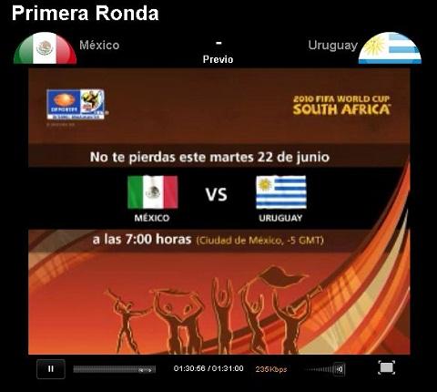 mexico uruguay en vivo mundial Mexico vs Uruguay en vivo