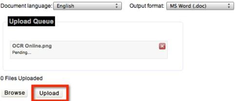 ocr online 3 Como convertir documentos escaneados a texto con OCR Online