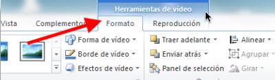 reproducir video Insertar videos de Youtube en Power Point 2010