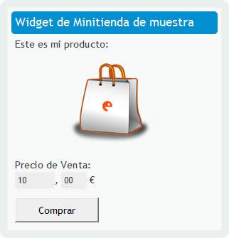 tienda en linea codeeta Vender en internet fácilmente con Codeeta Widgets