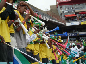 vuvuzela estadio Vuvuzela en tu BlackBerry