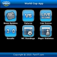 world cup app nokia Mundial 2010 en tu Nokia