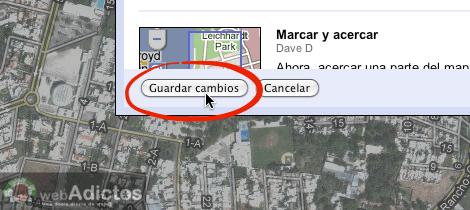 Como activar acortador url google maps 5 Como activar acortador de enlaces de Google Maps