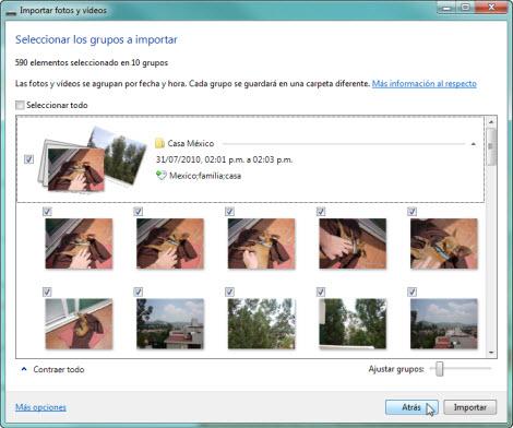 Crear panoramica Galeria fotos de Windows 1 Hacer fotos panorámicas con la galería de Windows Live
