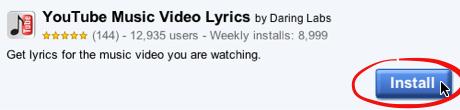 Letras de canciones en YouTube 1 Ve las letra de las canciones en YouTube