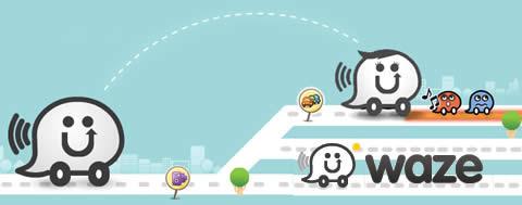 gps movil Navegador GPS social para celular, Waze