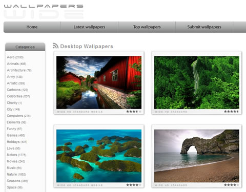 wallpapers gratis Fondos de pantalla, WallpapersWide