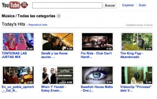 youtube musical Videos de musica en Youtube