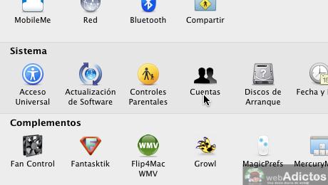 Mostrar usuario en la barra de menus Mac 1 Mostrar cambio rápido de usuario, o sea, tu nombre en la barra de menús