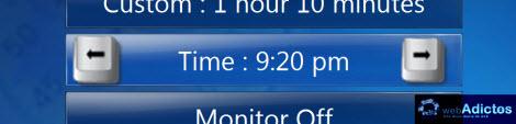 ajustar hora sleep timer windows media center Agregar un Sleep Timer a Windows Media Center
