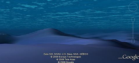 google earth oceano Google Earth 1.1 de Android se sumerge a los océanos
