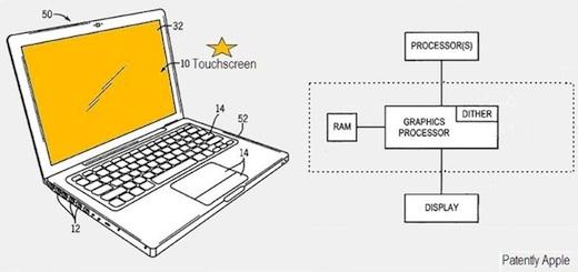 macbook touch pantalla Apple patenta una Macbook con pantalla táctil