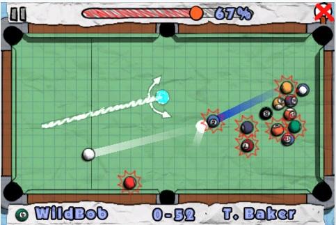 Juego billar ipod doodle pool Juegos iPod gratis, Doodle Pool