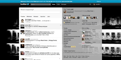 Nueva interfaz twitter Ya tienes la nueva interfaz de Twitter? [encuesta]