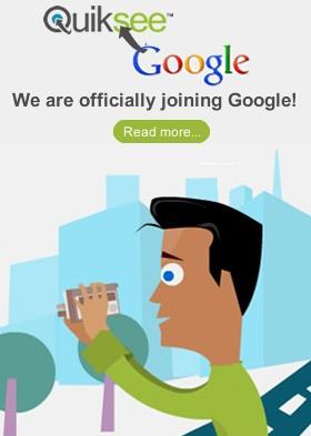 Quiksee Google compra Quiksee