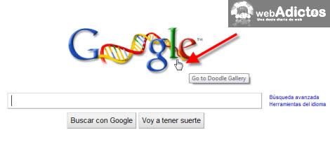 cambiar google doodle Cambiar el logotipo de Google por Google Doodle Favorito