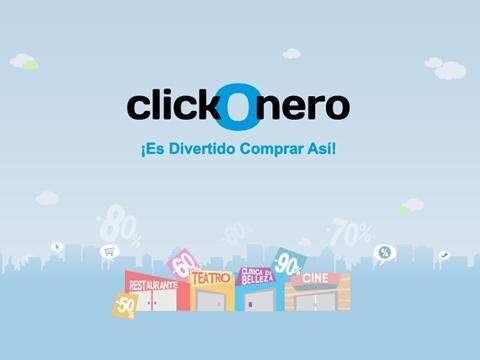 clickonero ClickOnero, descuentos de hasta el 90%