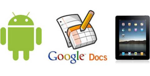 google docs android ipad Google Docs para iPad y Android