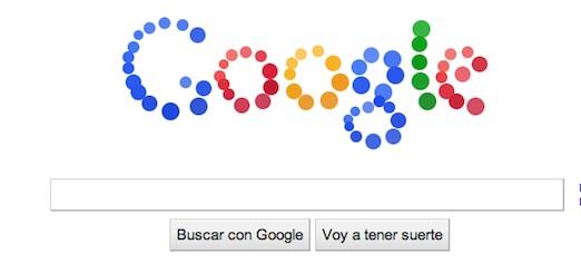 google doodle Misterioso y divertido doodle de Google