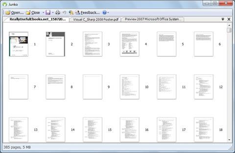 separar pdf Separar y juntar pdfs con Junko