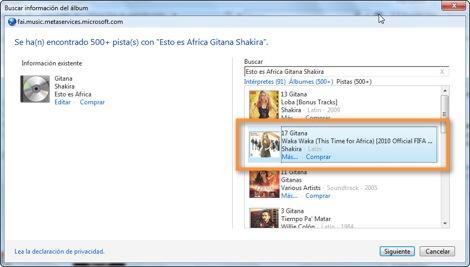 30 10 2010 09 45 28 a.m. Colocar ilustraciones de los álbumes en Windows Media Player