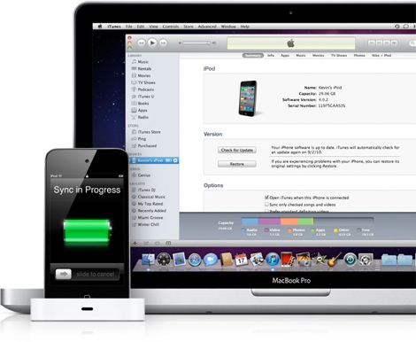 sincronizar ipod1 Como sincronizar música específica en tu iPod