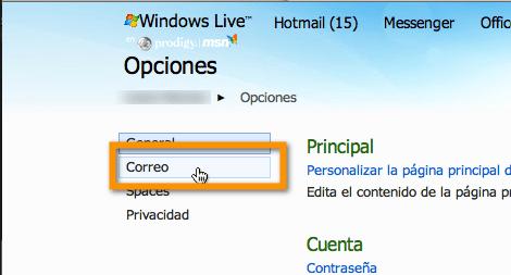 hotmail 2 Agregar tus servicios de correo electrónico externo a Hotmail