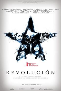 revolucion la pelicula poster Revolución la película, en vivo por YouTube