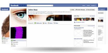 perfil de facebook Arte en tu perfil de Facebook