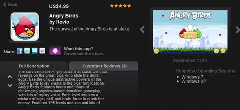 angry birds para windows Angry Birds para Windows disponible