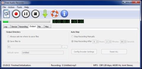 freeaudio recorder grabador Free Audio Recorder, graba audio desde múltiples entradas